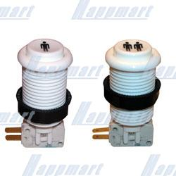 1-2 Player Pushbutton with Horizontal Microswitch