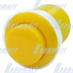 33mm Convexity Round Push Button with PCB (welded)
