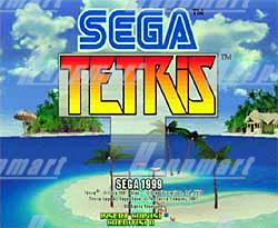 Sega Tetris Cartridge with Naomi Motherboard