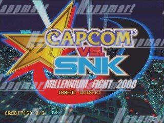 Capcom Vs SNK Cartridge with Naomi Motherboard