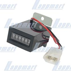 6-digit non-resettable counter With Plug