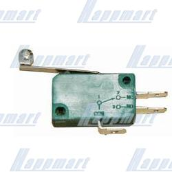 3 Terminals Microswitch with Long Roller Actuator