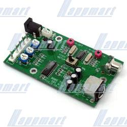 CGA/EGA to TV Converter PCB Board