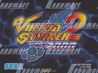 Virtua Striker 2000 Cartridge with Naomi Motherboard