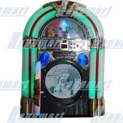 AM FM MP3 USB SD Connection Jukebox with LED light