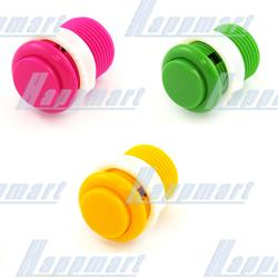Push Button 28mm with Screw-in Microswitch