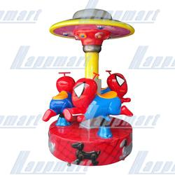 Spideman Carousel(3 players) For Amusement Rides