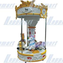 Horse Carousel( 3 Players) For Amusement Rides