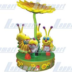 Bee Carousel For Amusement Rides
