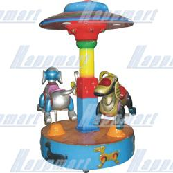 Mechanical Dogs Carousel For Amusement Rides