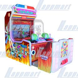 Fire Man Video Game Machine(water shooting)